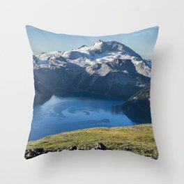 Garibaldi Lake Throw Pillow