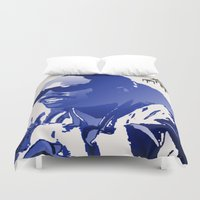 stevie nicks Duvet Covers featuring STEVIE WONDER by KEVIN CURTIS BARR'S ART OF FAMOUS FACES