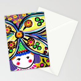 Earth Girl Stationery Cards