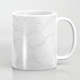 Kumori Nochi Sakura: Gray Coffee Mug