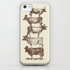 Cow Cow Nuts iPhone 5c Slim Case