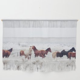 Winter Horseland Wall Hanging