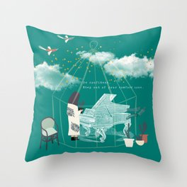 Step Out of Your Comfort Zone 1 Throw Pillow