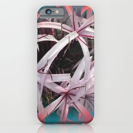 Ribbons of Life: Abstract Design iPhone Case