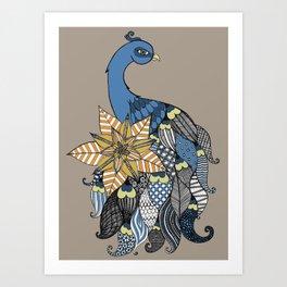 Peacockoodle Art Print