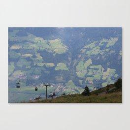 tirel view Canvas Print