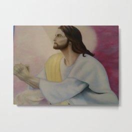 Jesus Christ the Savior Metal Print
