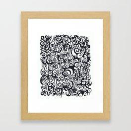 nt014 Framed Art Print