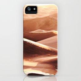 Cold Dunes iPhone Case