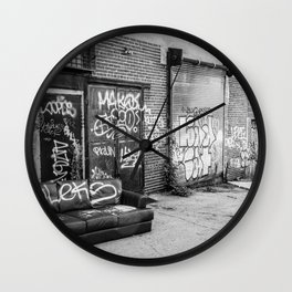 Relax, Take a Seat Wall Clock