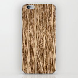 Thousands of reeds iPhone Skin