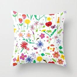 Urban nature Throw Pillow