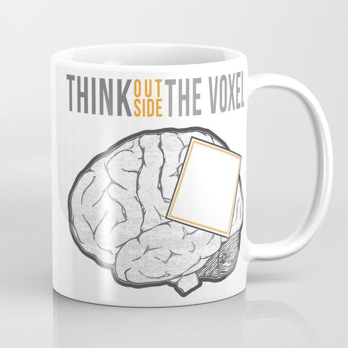 Think Outside the Voxel Coffee Mug