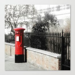 Waiting for the Postman Canvas Print