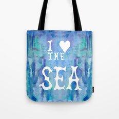 I Love the Sea 2 Tote Bag