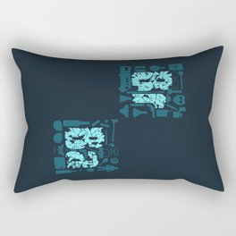 Br Ba Rectangular Pillow