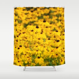 Lots of Little Sunshines Shower Curtain