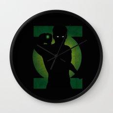SuperHeroes Shadows : Green Lantern Wall Clock