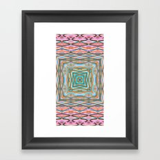 Touchy Vibrations. Framed Art Print