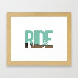 Ride LDR Framed Art Print