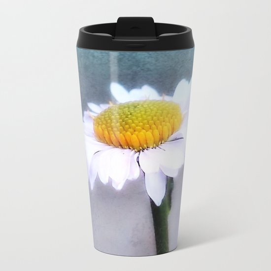 Loves me loves me not Metal Travel Mug