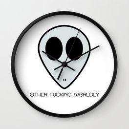 Other Fucking Worldly Wall Clock