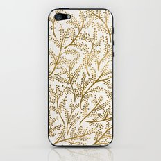 Gold Branches iPhone & iPod Skin