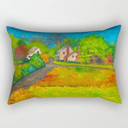 Starr From the Upstairs Window Rectangular Pillow