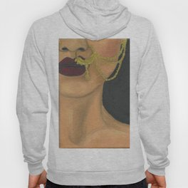 Woman With a Nose Ring Hoody
