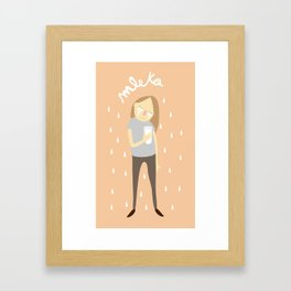 mleko Framed Art Print