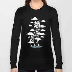 Wandering Giraffe Long Sleeve T-shirt