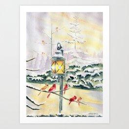 Winter Song 3 Art Print