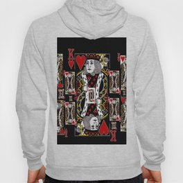 BLACK KING OF HEARTS CASINO PLAYING CARDS FROM Hoody