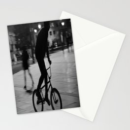Ride the night Stationery Cards