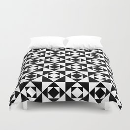 Squares in Squares Duvet Cover