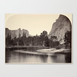 View from Camp Grove, Yosemite Canvas Print