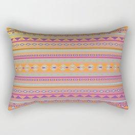 Caliente Tribal Party Rectangular Pillow