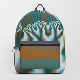 Fractal Forest Abstract Art Backpack