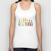 sin city Tank Tops featuring Sin City by Chelsea Dianne Lott