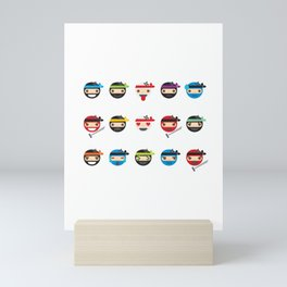 Ninja Toddlers Mini Art Print