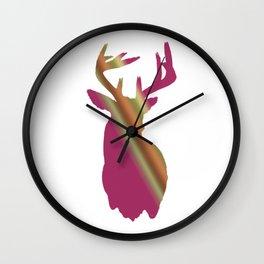 Girly buck Wall Clock