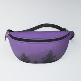 Ultra Violet Fog - Seward Alaska Fanny Pack
