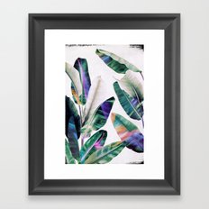 tropical #1 Framed Art Print