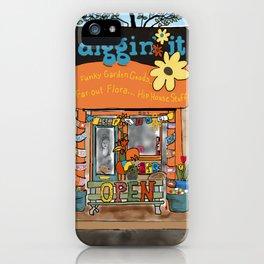Diggin' it Mckinney, TX iPhone Case