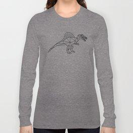 Funny Spinosaurus Long Sleeve T-shirt