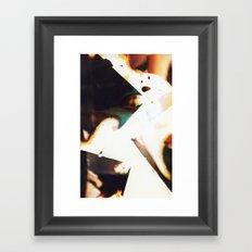Cubic Figure Framed Art Print