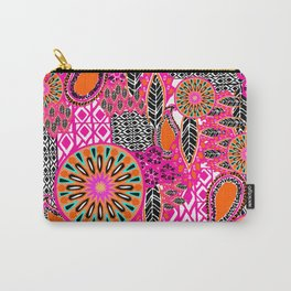Tribal Patchwork Carry-All Pouch
