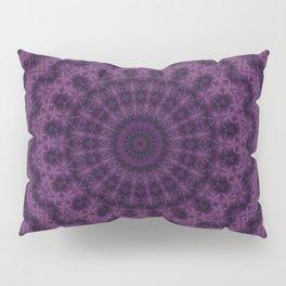 Plum kaleidoscope 2 Pillow Sham