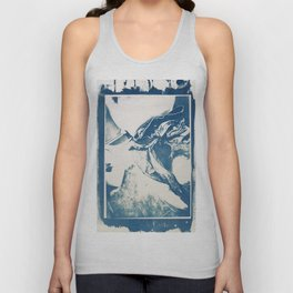 cyanotype seat Unisex Tank Top