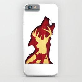 Magic cute Marauder Squad Silhouette iPhone Case